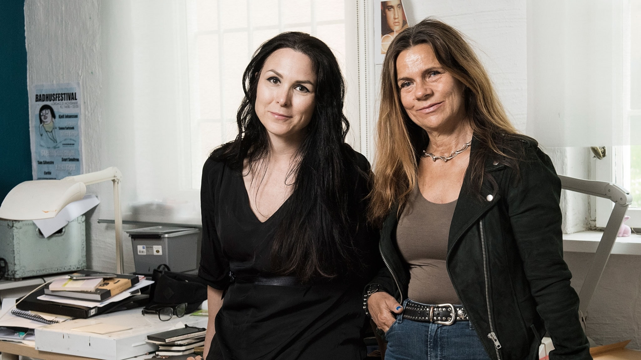 Katarina Hahr möter serietecknaren Nina Hemmingsson i ett samtal om rädsla
