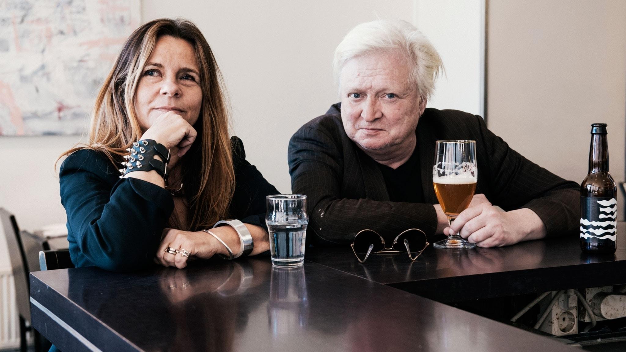 Katarina Hahr möter författaren Stig Larsson i ett samtal om rädsla
