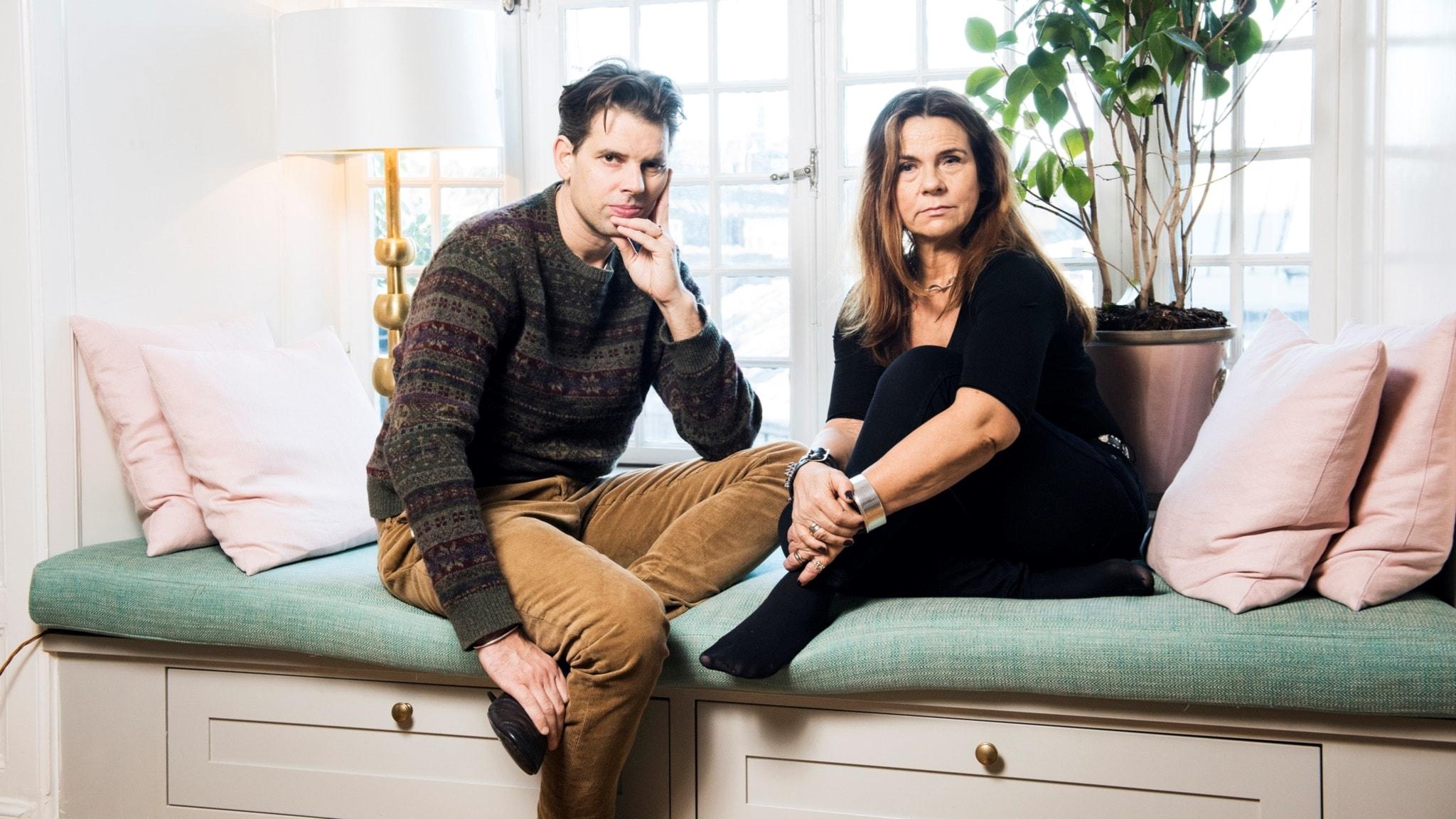 Katarina Hahr möter författaren och skribenten Alex Schulman i ett samtal om rädsla