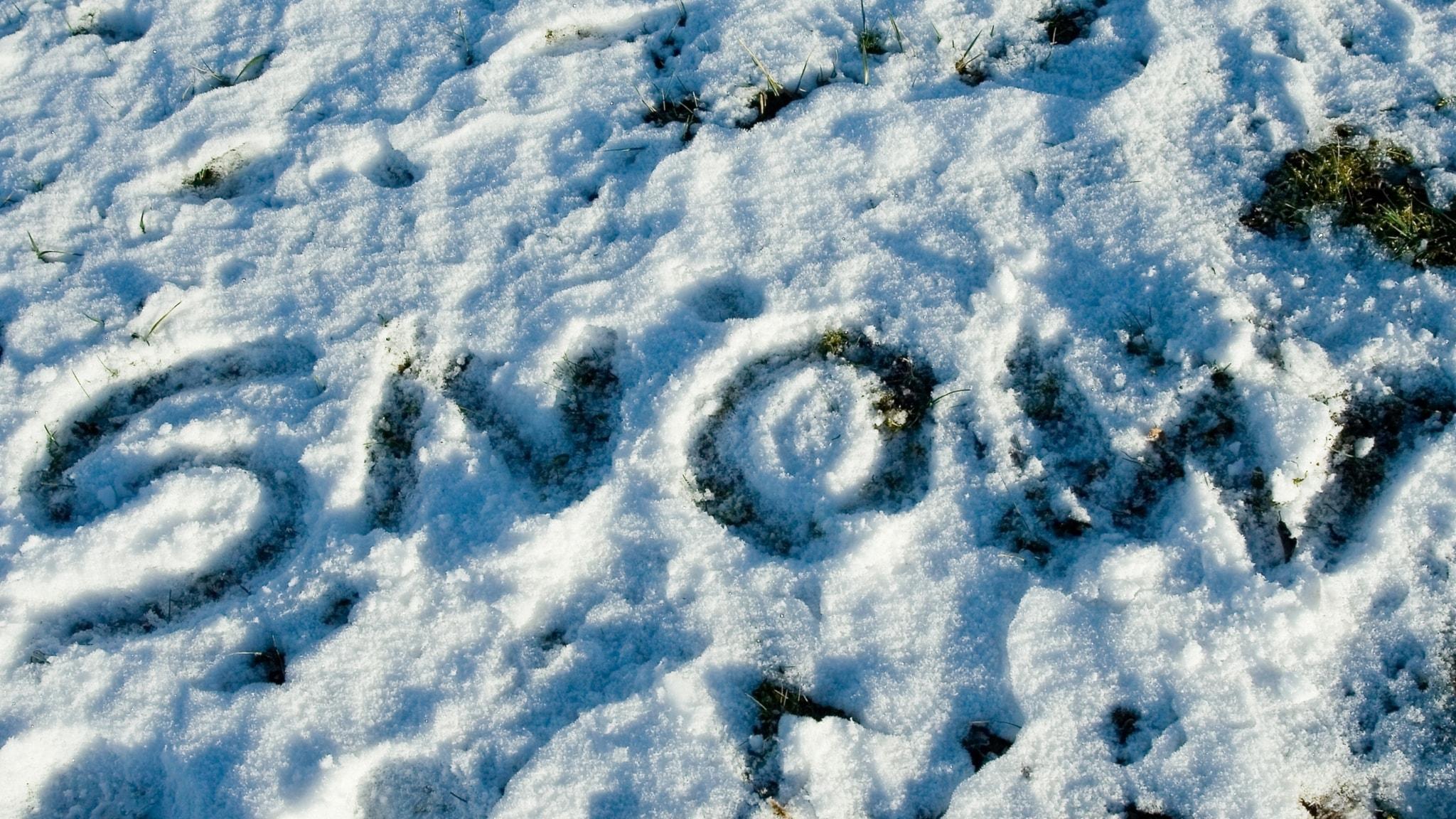 Spellista med En skrift i snön, Alfred Schnittkes skeva Stilla Natt och Zbigniew Preisner på rim