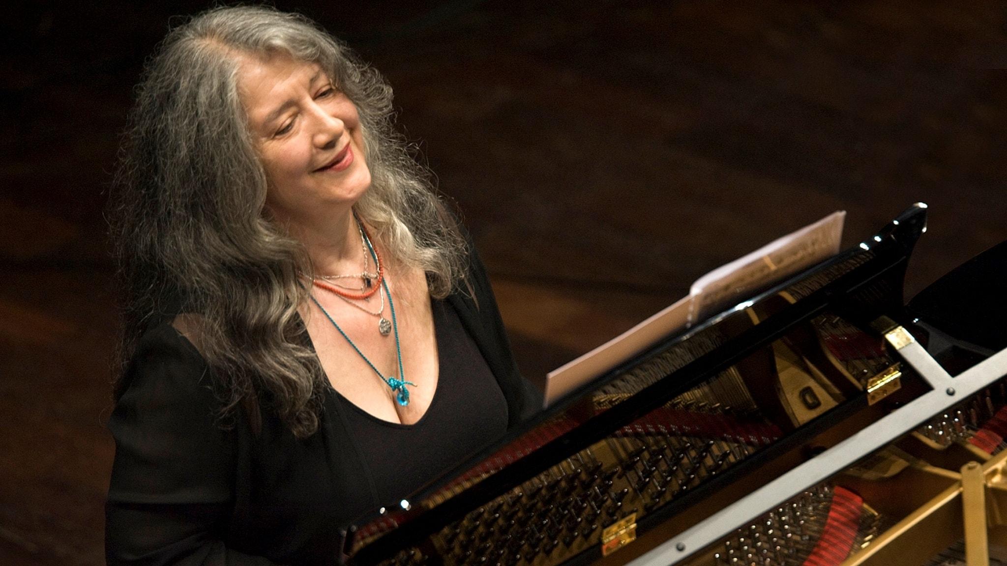 KONSERT: Martha Argerich spelar Beethoven och Saint-Saëns