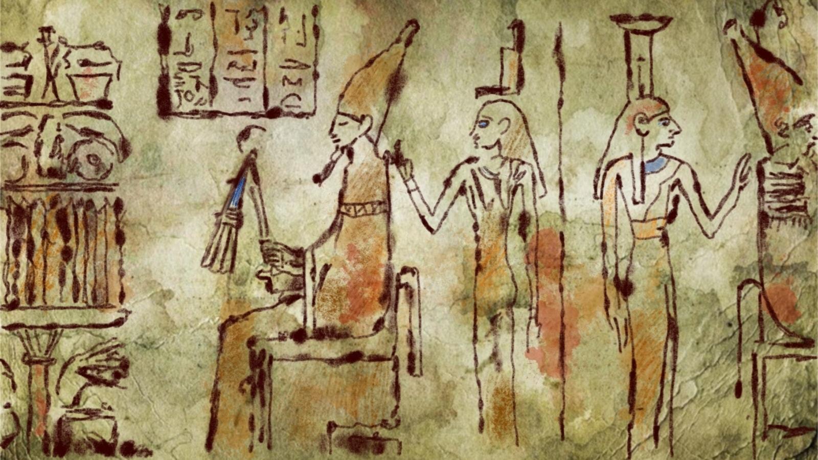Mot Egypten