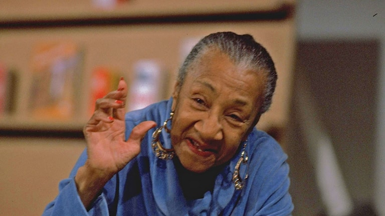 Blueslegendaren Alberta Hunter 1979