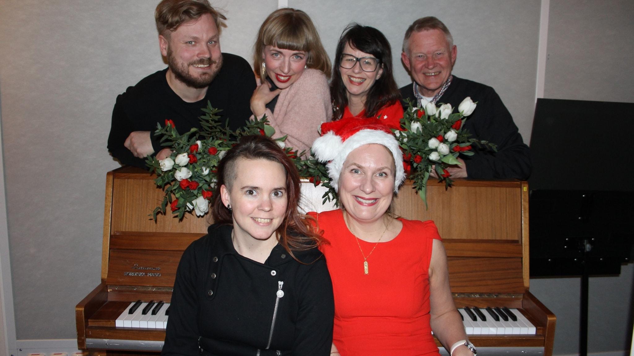 Anders Wejryd, Johannes Klenell, Anna Charlotta Gunnarson och Maja Åström!