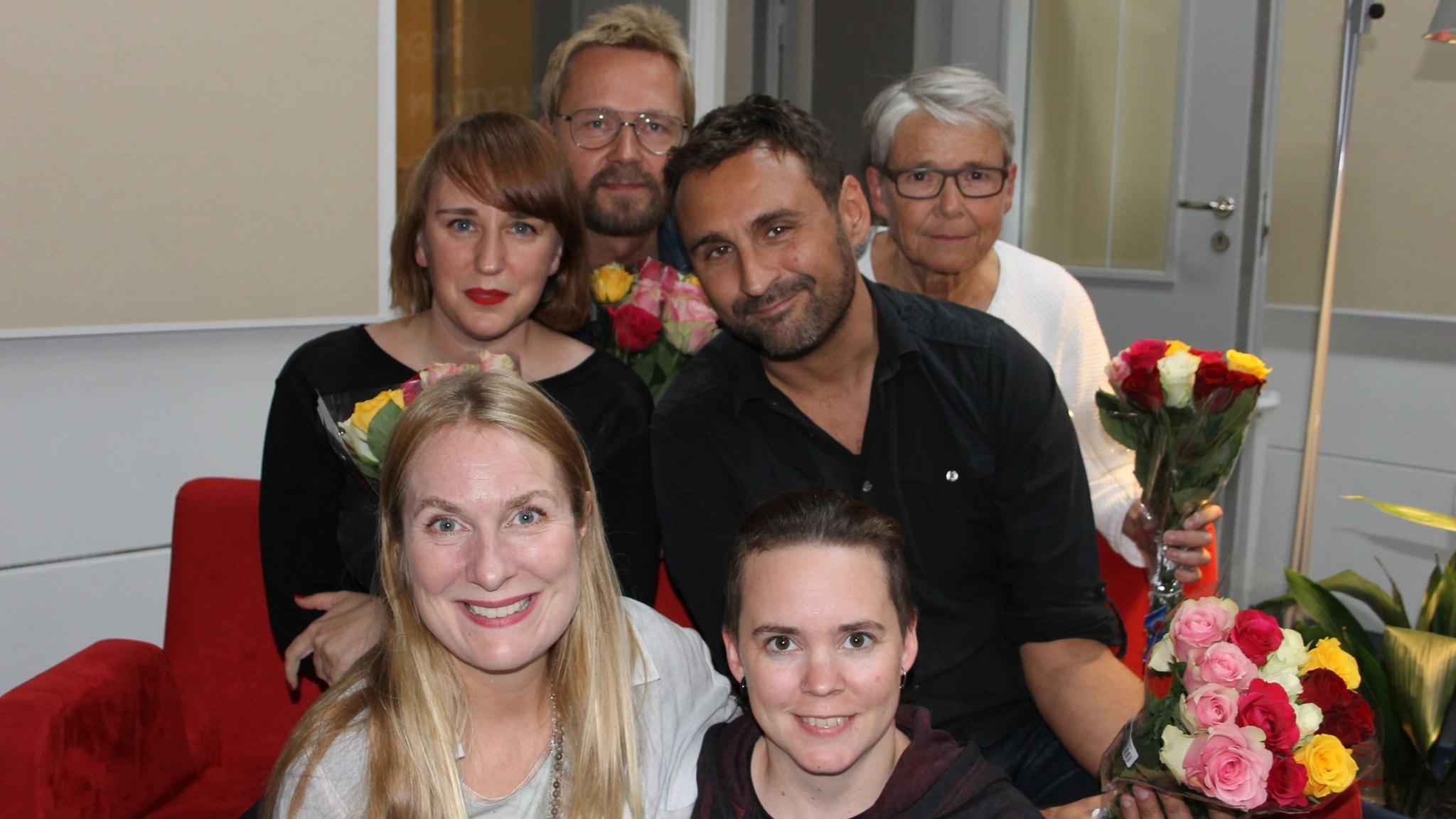 Hanna Fahl, Björn Wiman, Johar Bendjelloul och Marianne Hasslow!