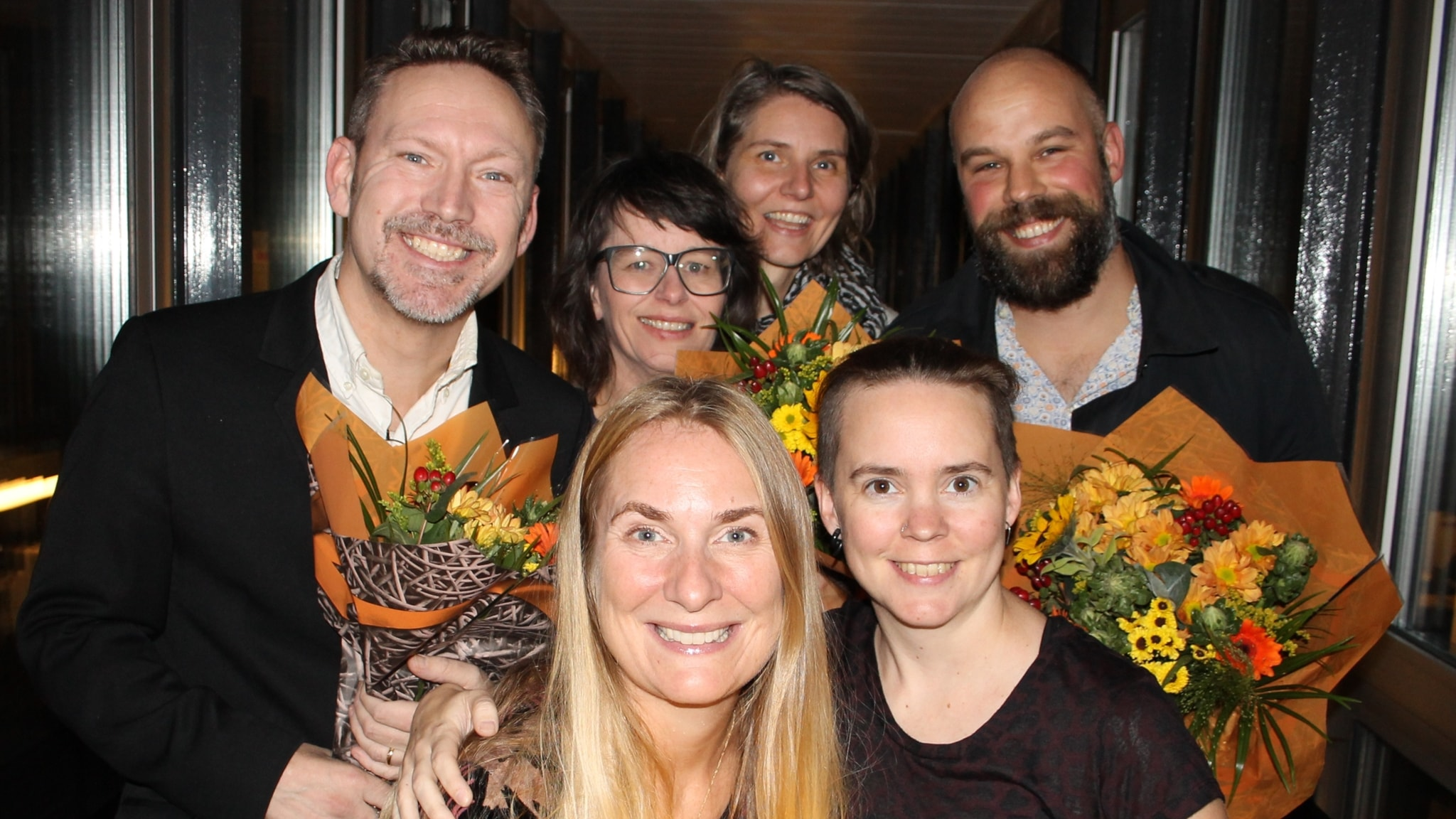 Daniel Suhonen, Erik Helmerson, Anna Charlotta Gunnarson och Agneta Karlsson!