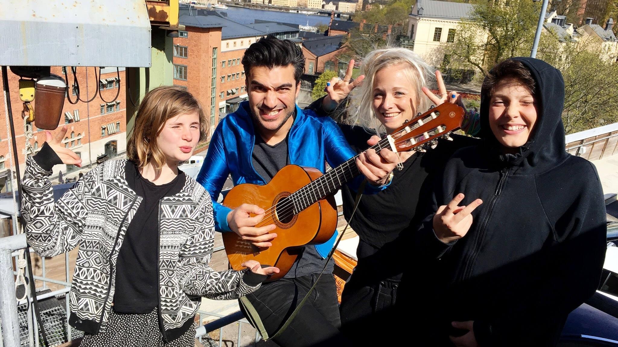 Farzad har en hemlig musikvind