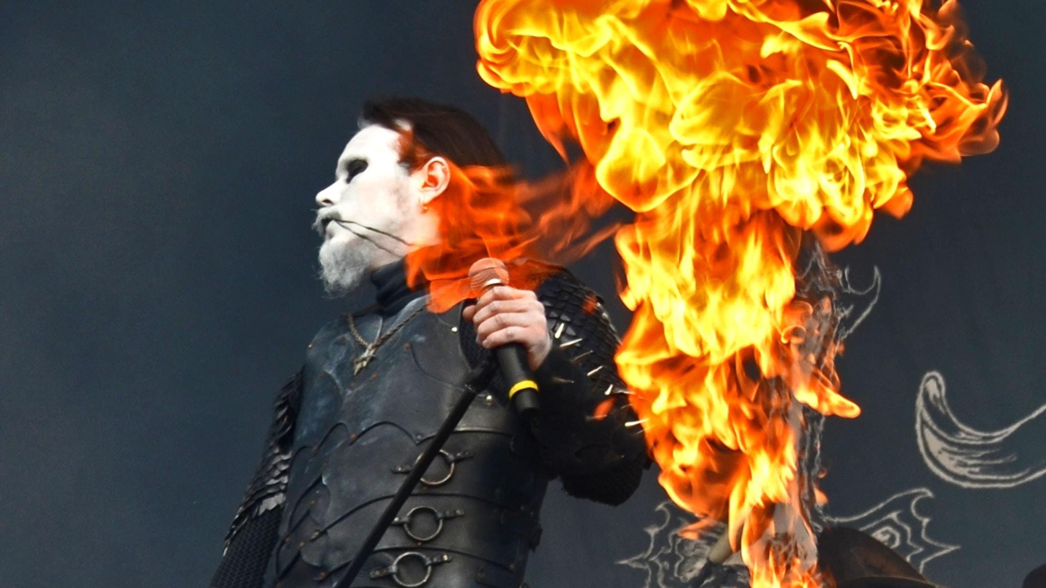 Dark Funeral - Live på Bråvallafestivalen