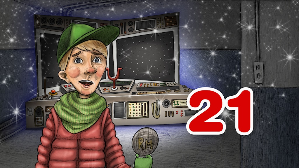 Julkalender 2014. High Tower AVSNITT 21.Illustratör: Anna Westin/Sveriges Radio AB