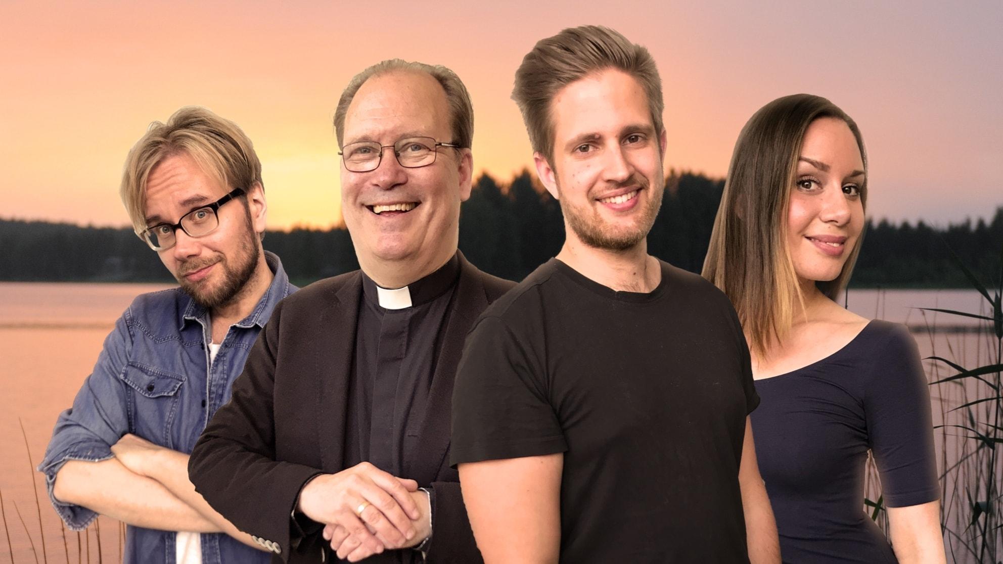 Säsongsavslutning: Popula firar midsommar med en präst och en kompositör