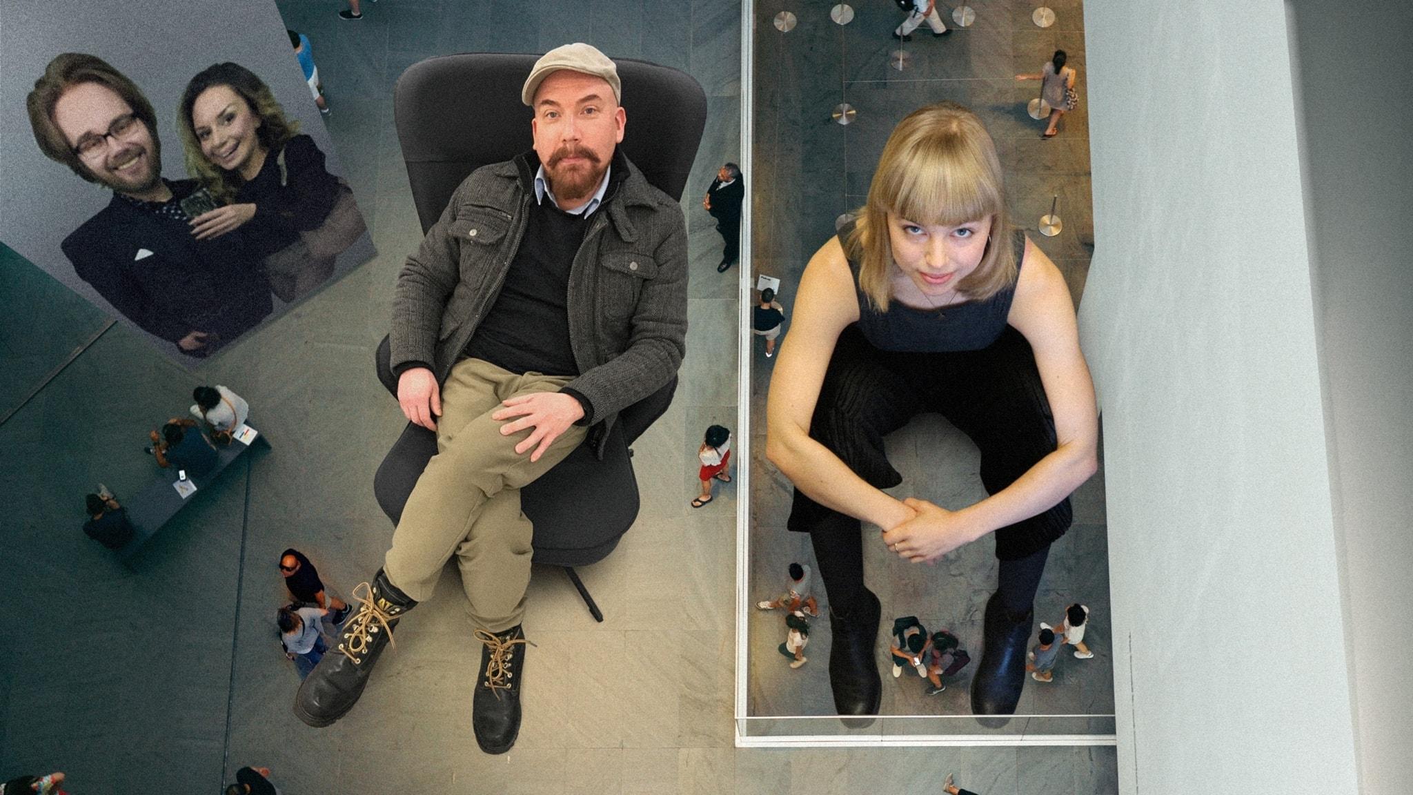Anna Virkkunen upptäcker musikalscenen och Juha Patronen skapar konst i Biskopsgården