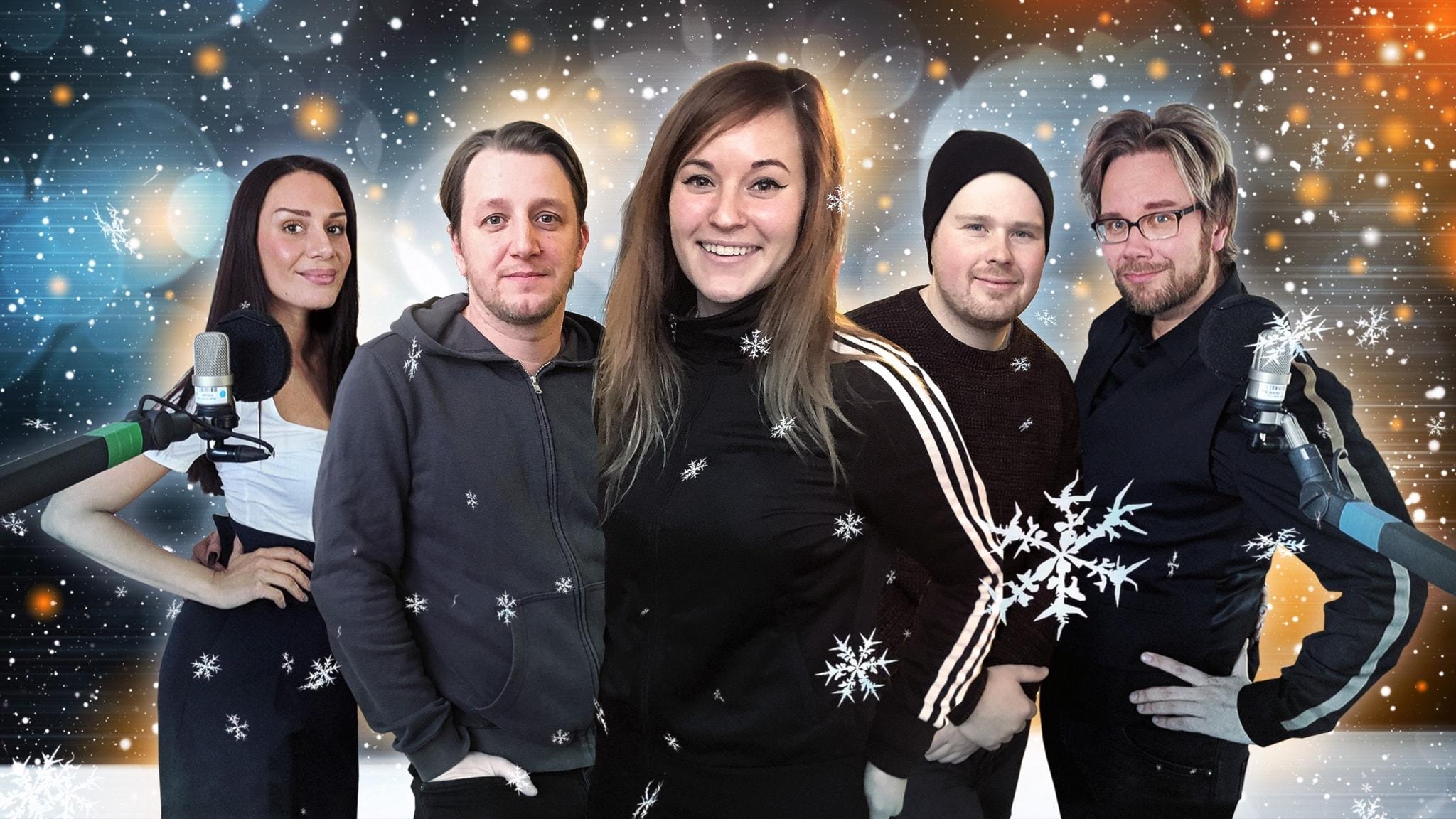Istria och Emil sjunger in julen och Kalled vill spela annat än bad guys