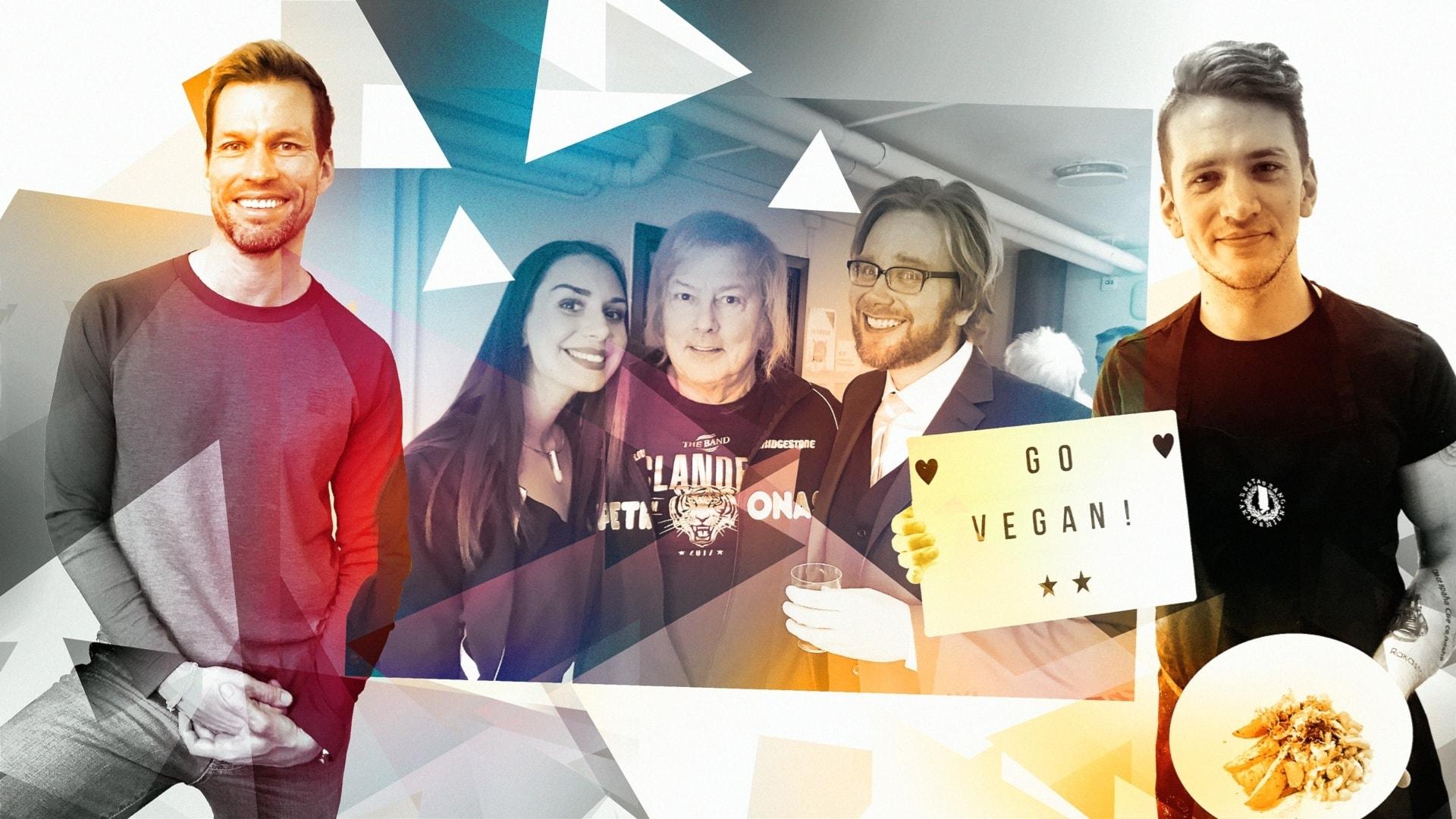 Mike lagar veganskt, Ari är Sveriges bästa träningsinstruktör och Danny är en finsk legend