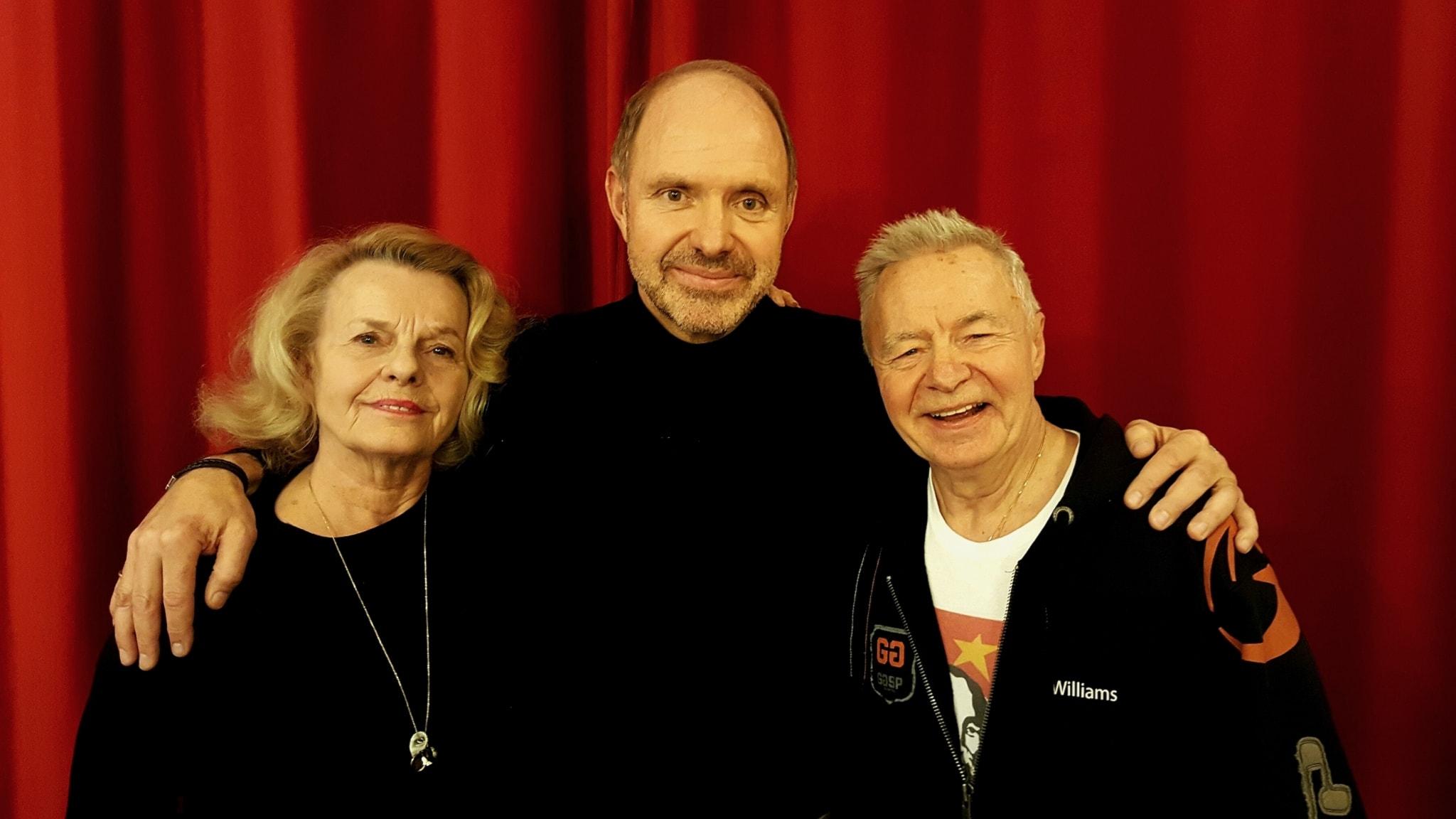 Jerry Williams bjuder in Marie Göranzon och Thomas Ravelli