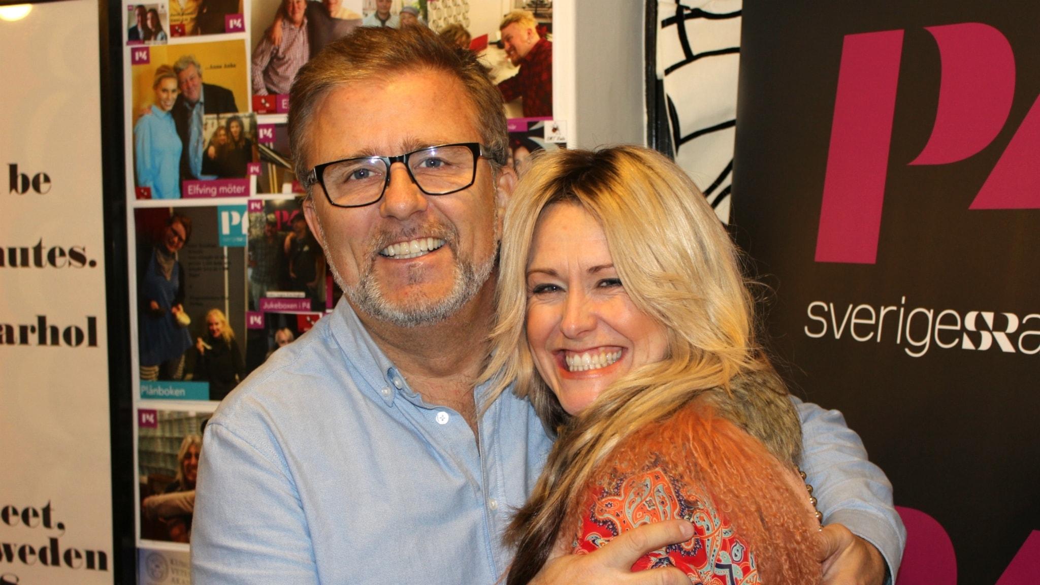 Nostalgi och eurovisionladdning med Jan Johansen och Annika Ljungberg
