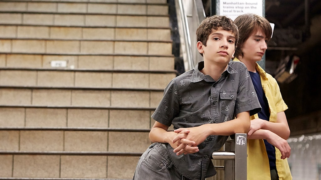 "Michael Barbieri and Theo Taplitz  i ""Little Men"""