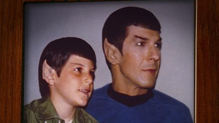 "ur filmen ""For the love of Spock"""