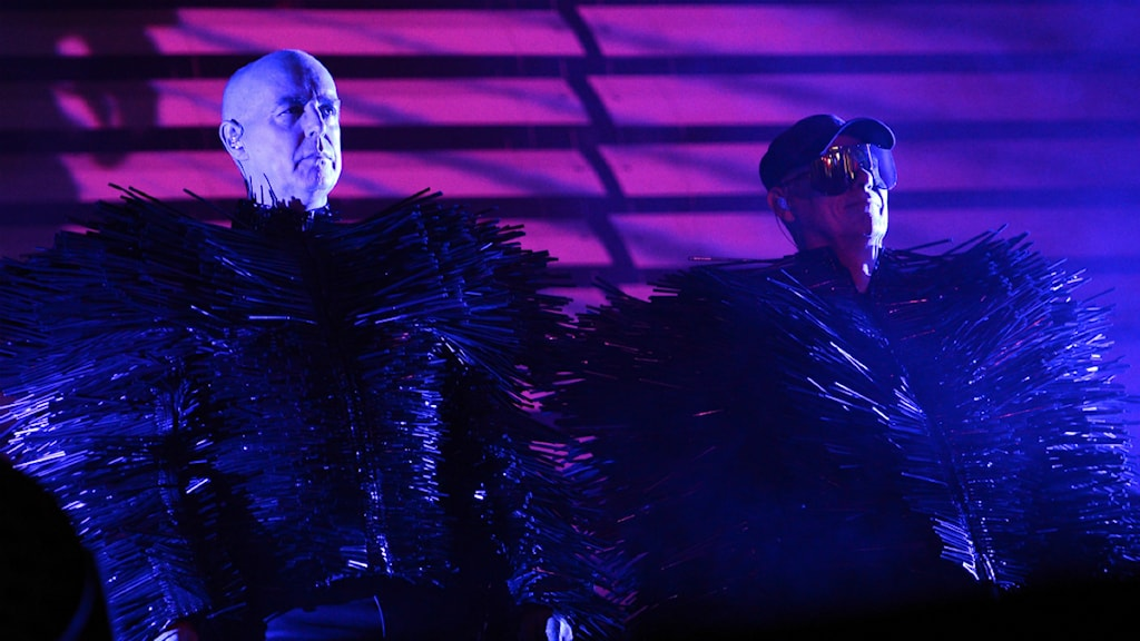Neil Tennant och Chris Lowe från Pet Shop Boys. Foto: TT
