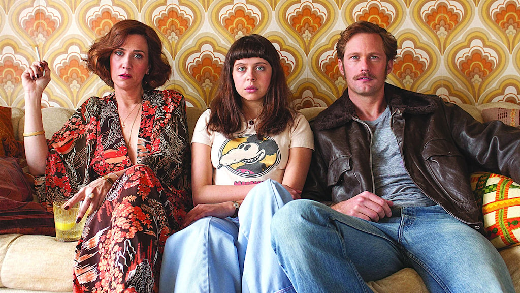 Kristen Wiig, Bel Powley och Alexander Skarsgård i The Diary of a Teenage Girl. Foto: Sony Pictures Classics