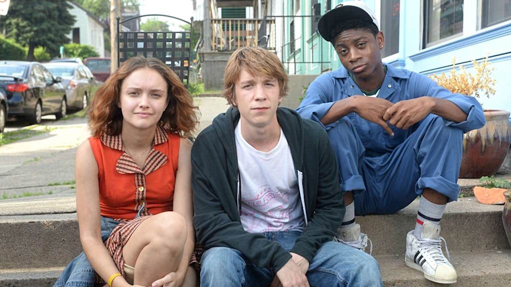 Rachel, Greg och Earl i filmen Me and Earl and the dying girl. Foto: Twentieth Century Fox