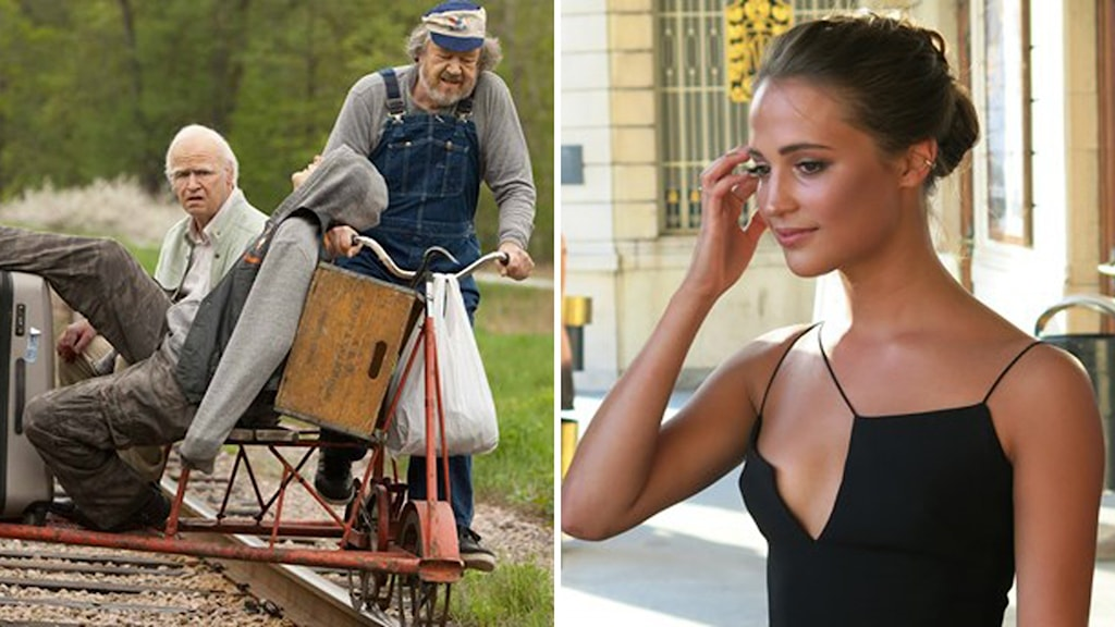 "Both ""The Hundred-Year-Old Man Who Climbed Out the Window and Disappeared"" and actress Alicia Vikander were nominated for an Academy Award. Photo: Press photo / Björn Jansson."
