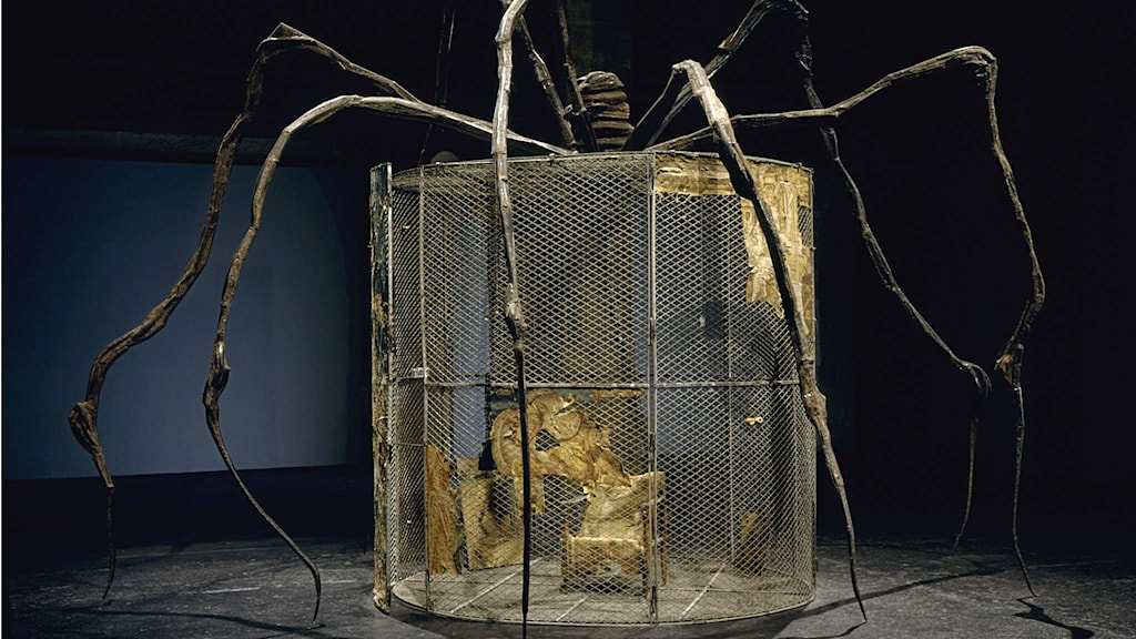 Big Spider av Louise Bourgeois 1997