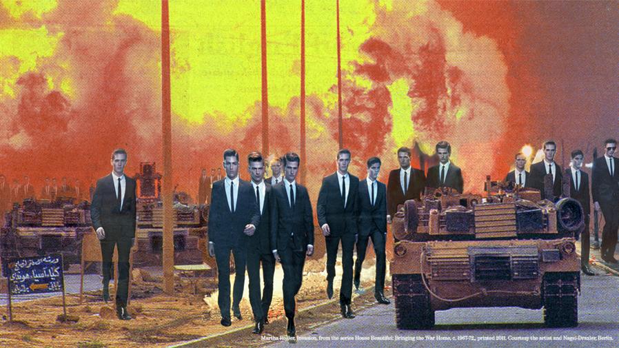 Kulturnytt: konsten att avkoda krigsbilder. Hur ser Bokmässans varumärke ut efter årets diskussioner? Trelleborgs Allehanda byter inriktning