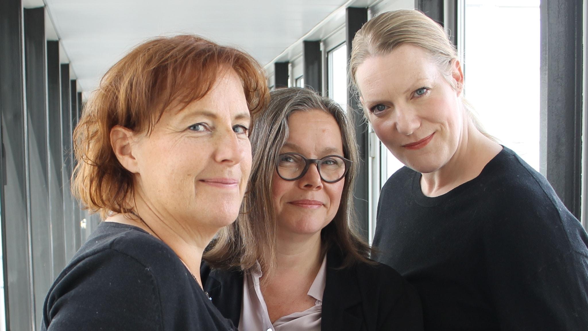 Sofia Jupither och Ulrika Josephsson intervjuas av Anneli Dufva.