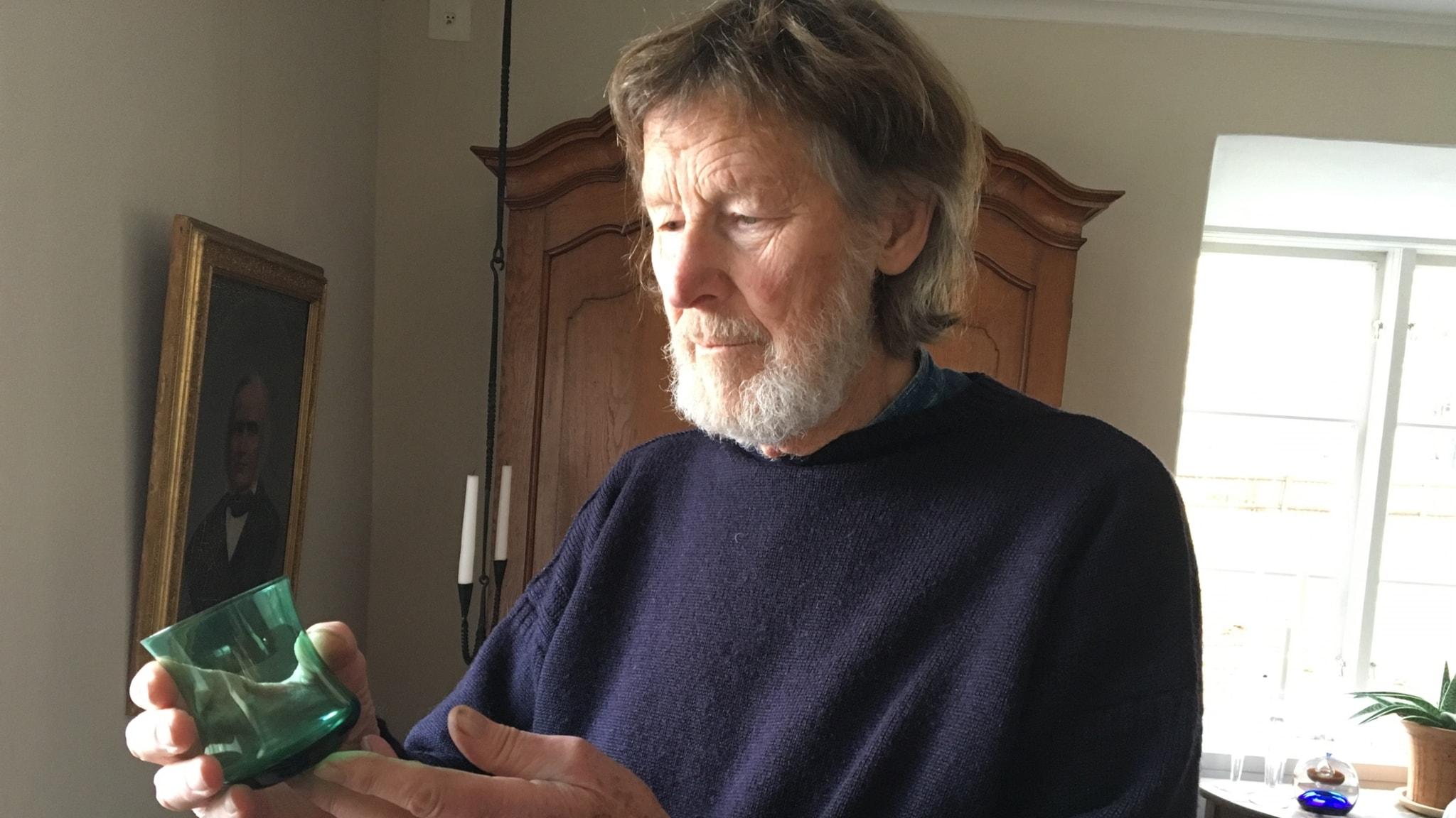 Svenska ikoner Göran Wärff – glaskonstnären bakom Jerringpriset