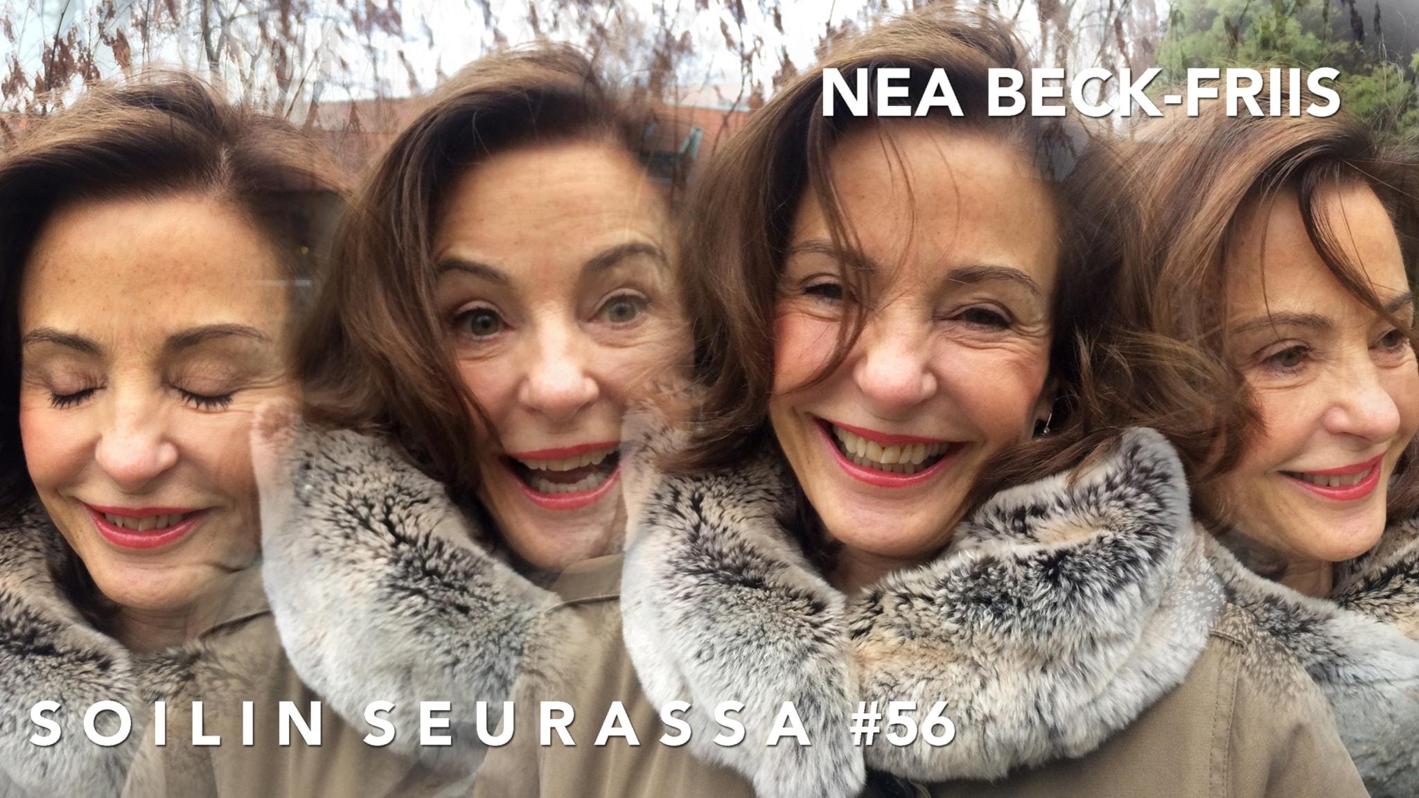 Soilin seurassa vapaaherratar Nea Beck-Friis