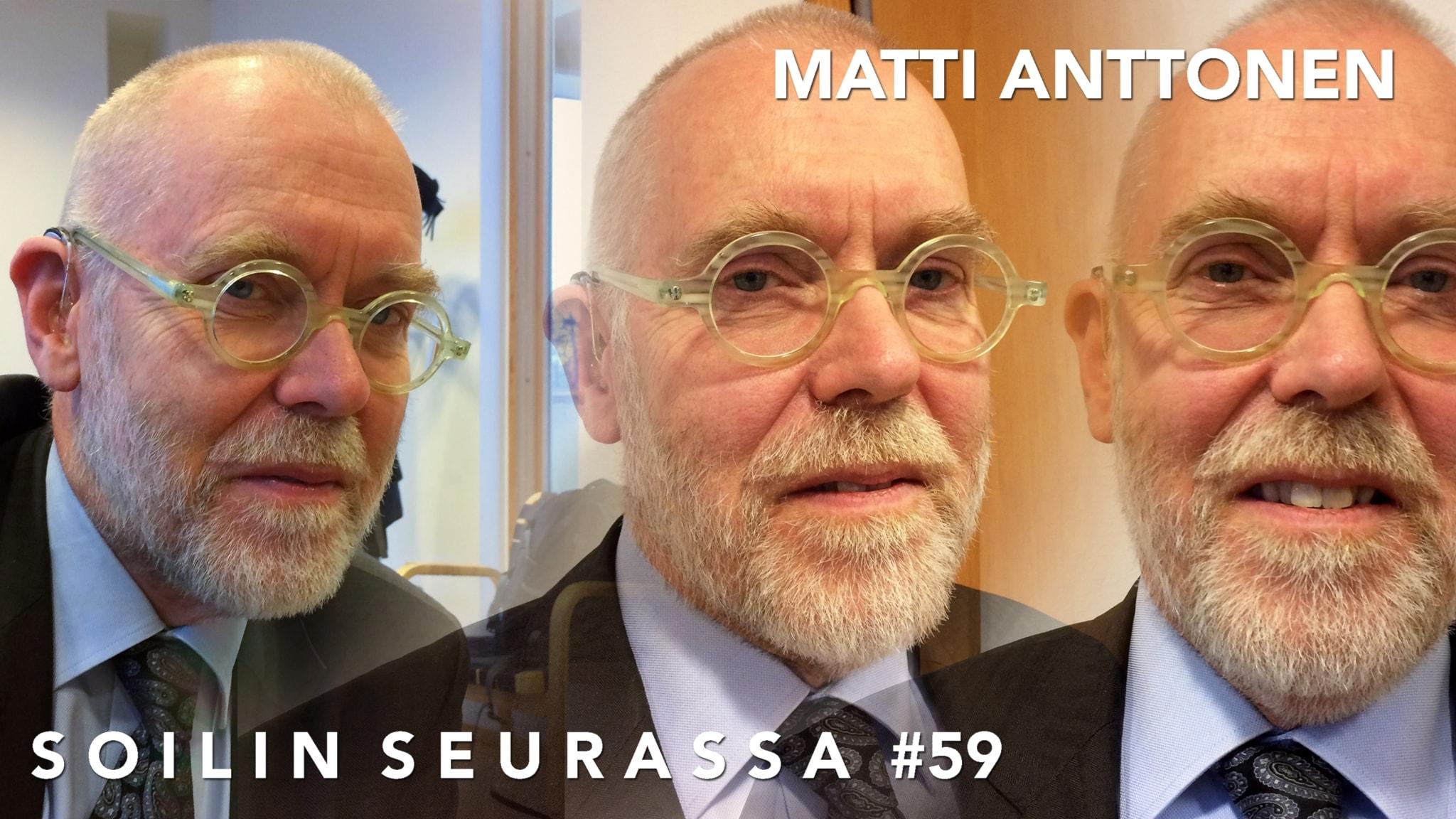 Soilin seurassa suurlähettiläs Matti Anttonen. Venäjän-vuosien muistelua ja nykypäivän arviointia suurella sydämellä ja huumorilla.
