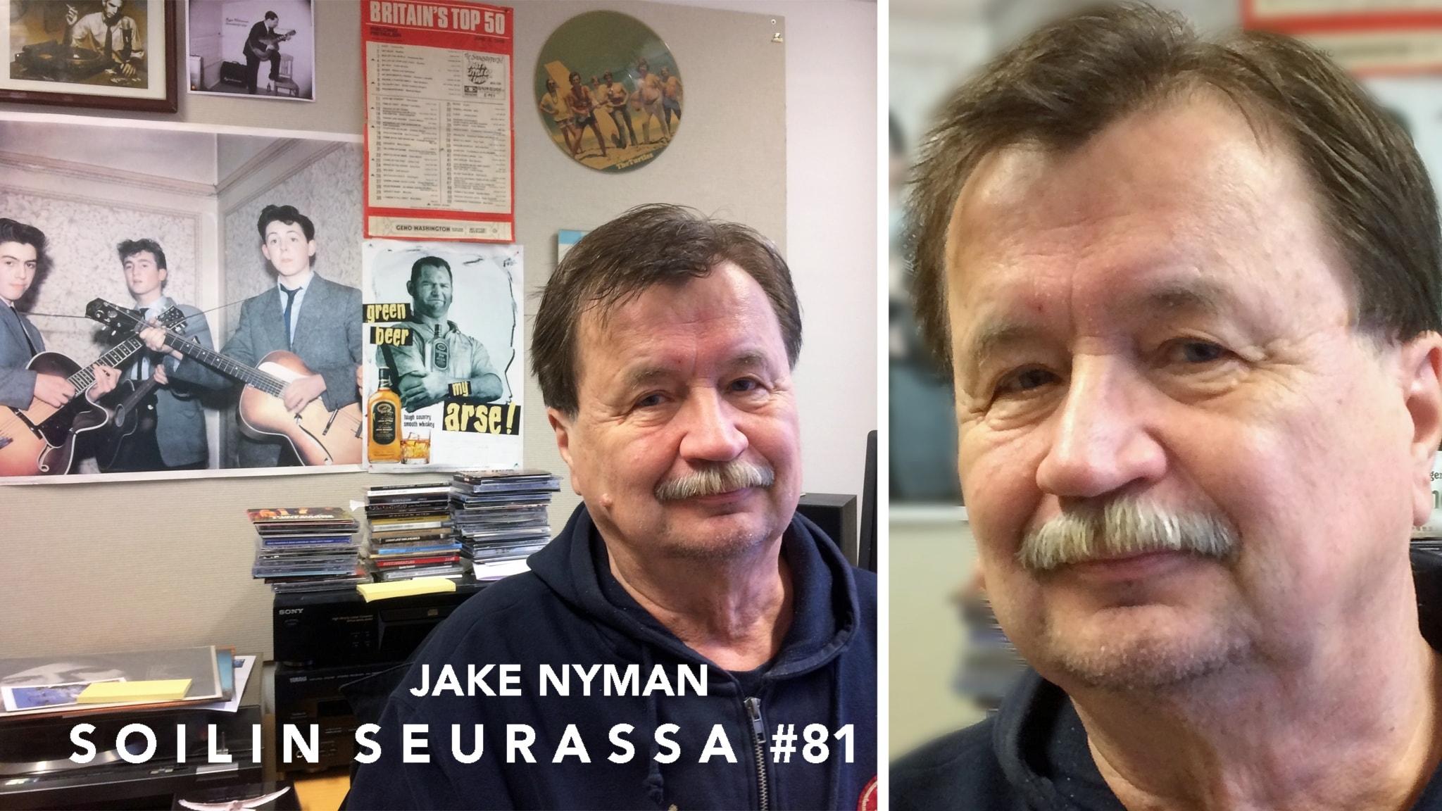 Jake Nyman, rockin kävelevä tietosanakirja