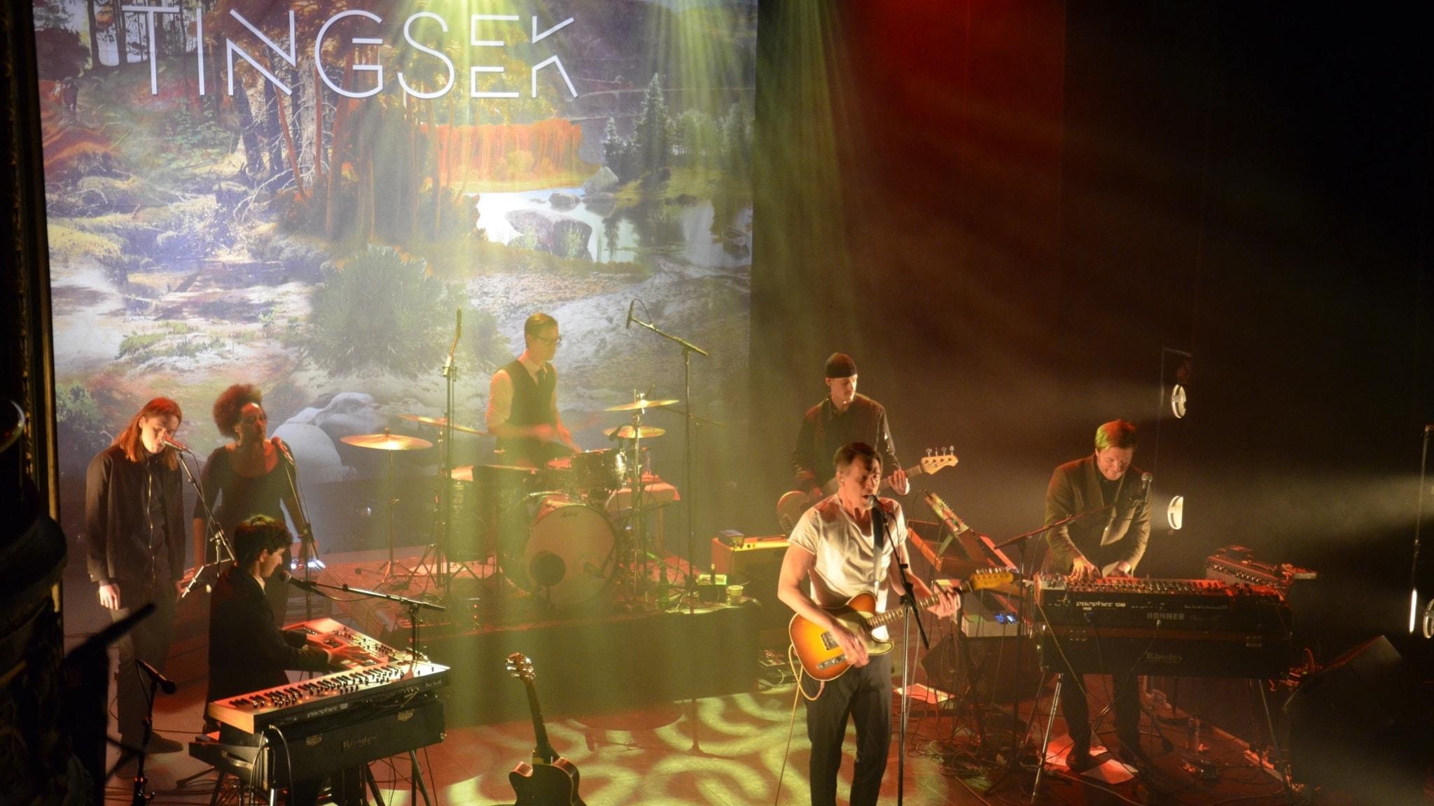 P4 Live med Tingsek