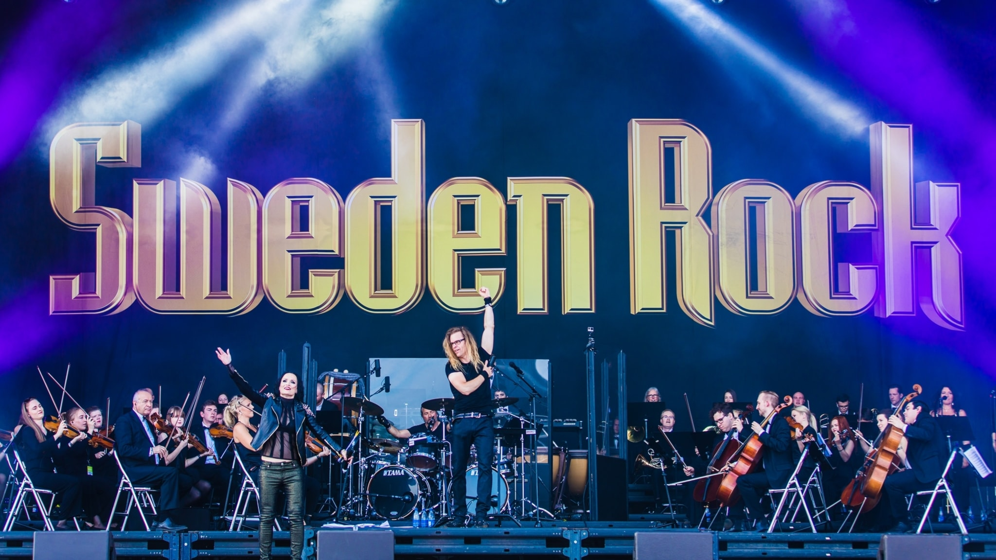 Sweden Rock Symphony Orchestra  - spela