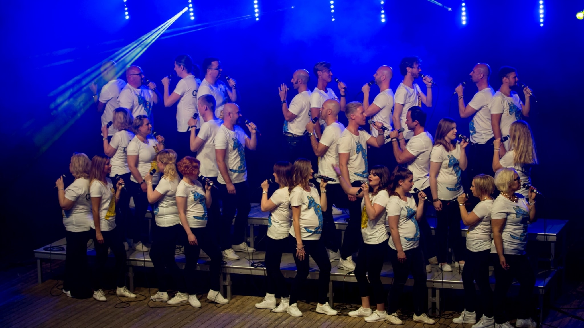 P4 Live med THE CHOIR established by ABBA the Museum