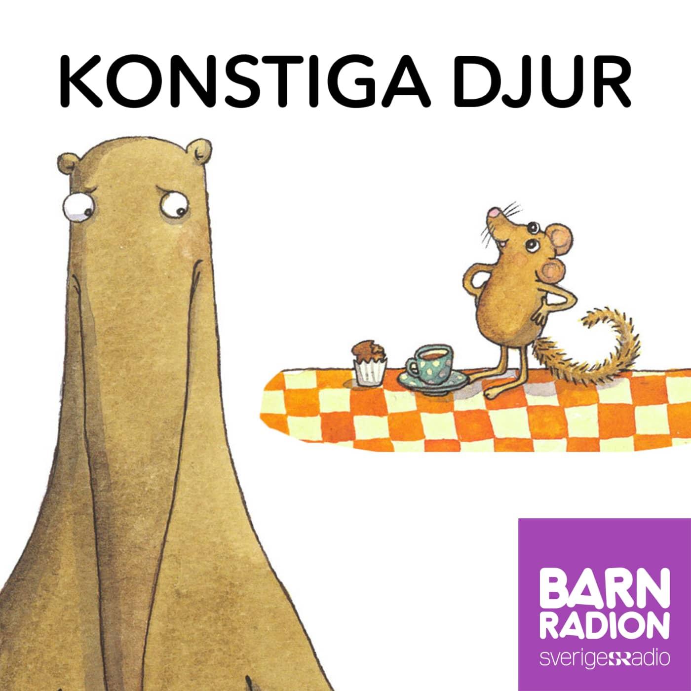 Konstiga djur i Barnradion