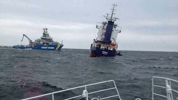 Hål i fartyg gatt