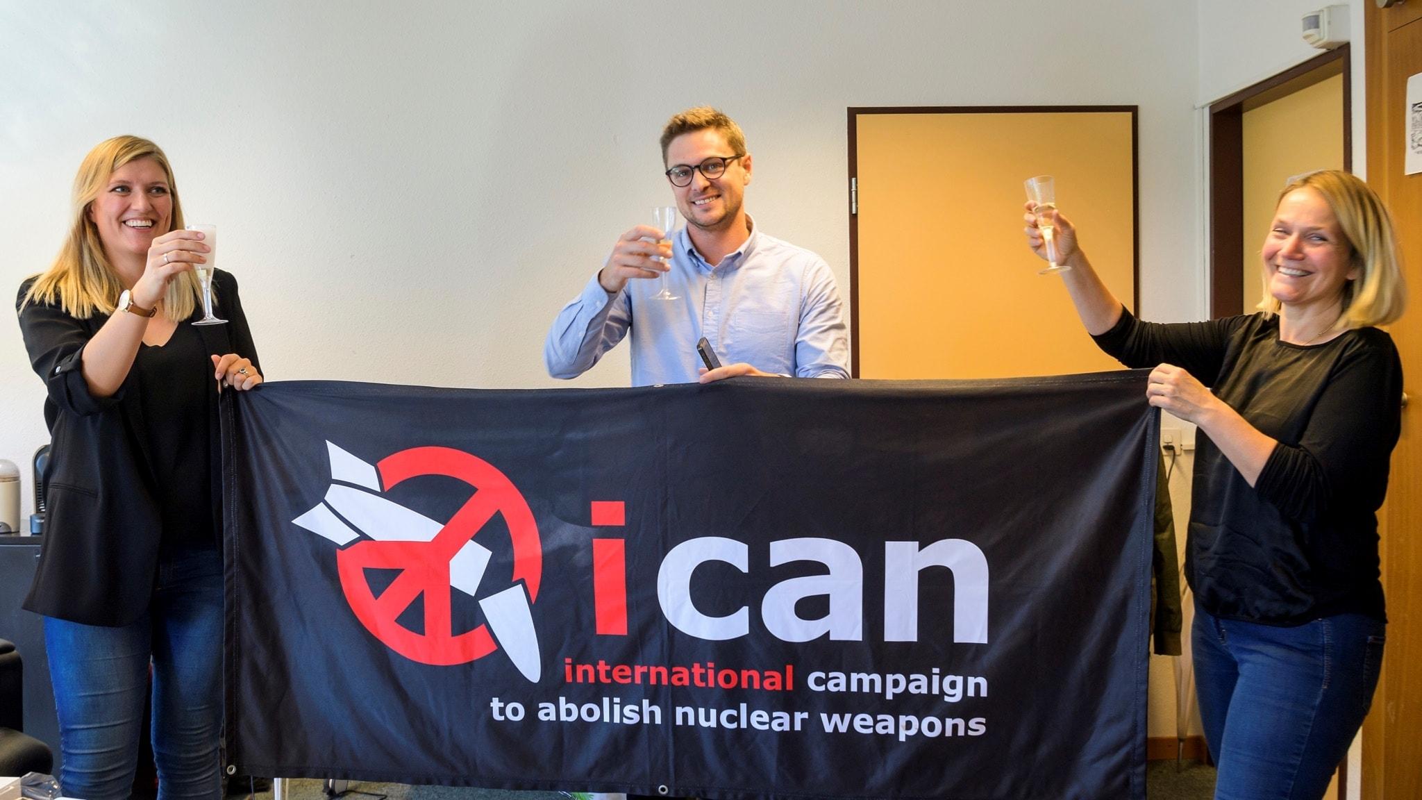 Fredspriset går till kampen mot kärnvapen