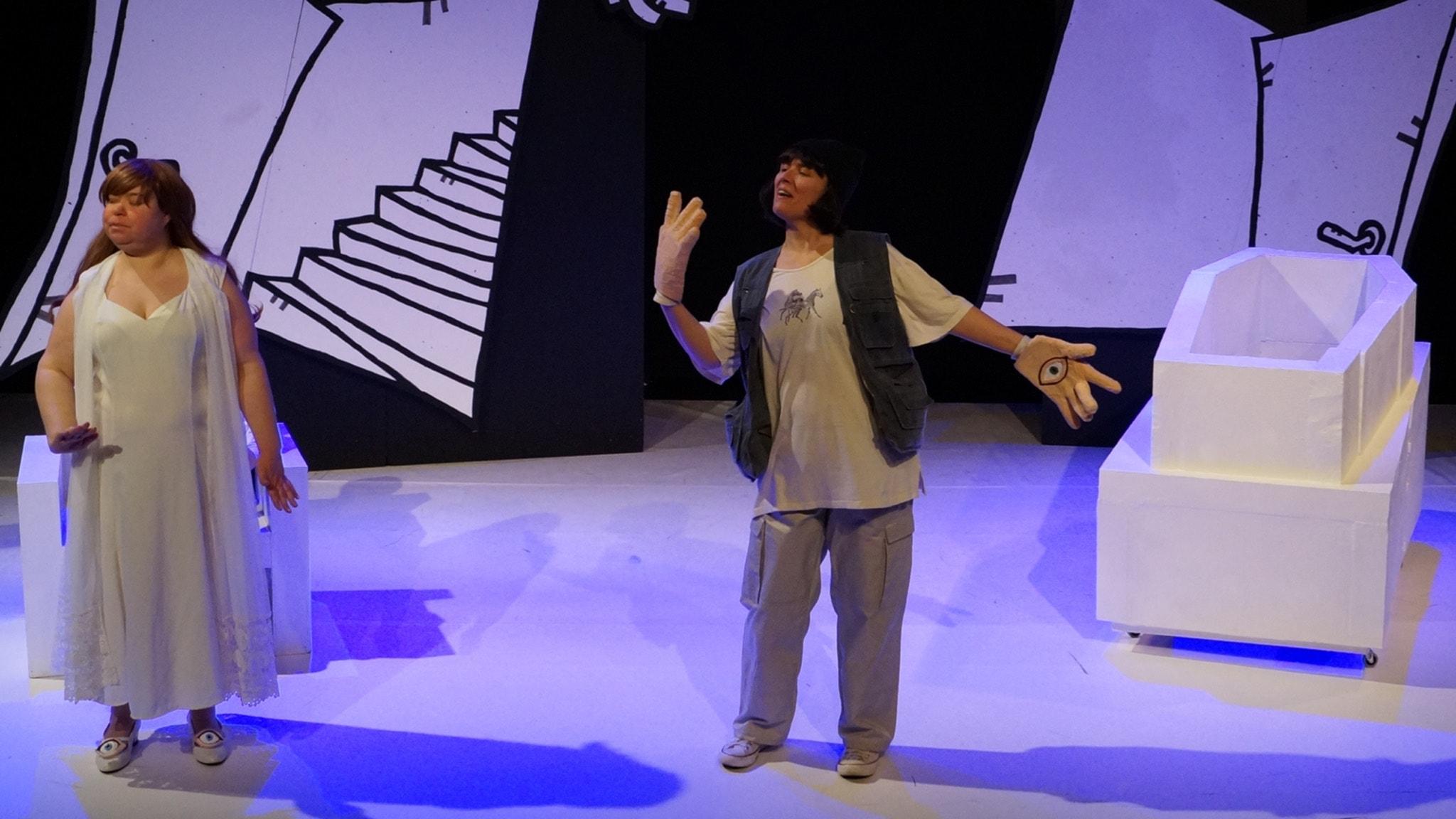 Teaterpjäs om kärlek och funktionsnedsättning ska visas i riksdagen, för få utbildade speciallärare i särskolan