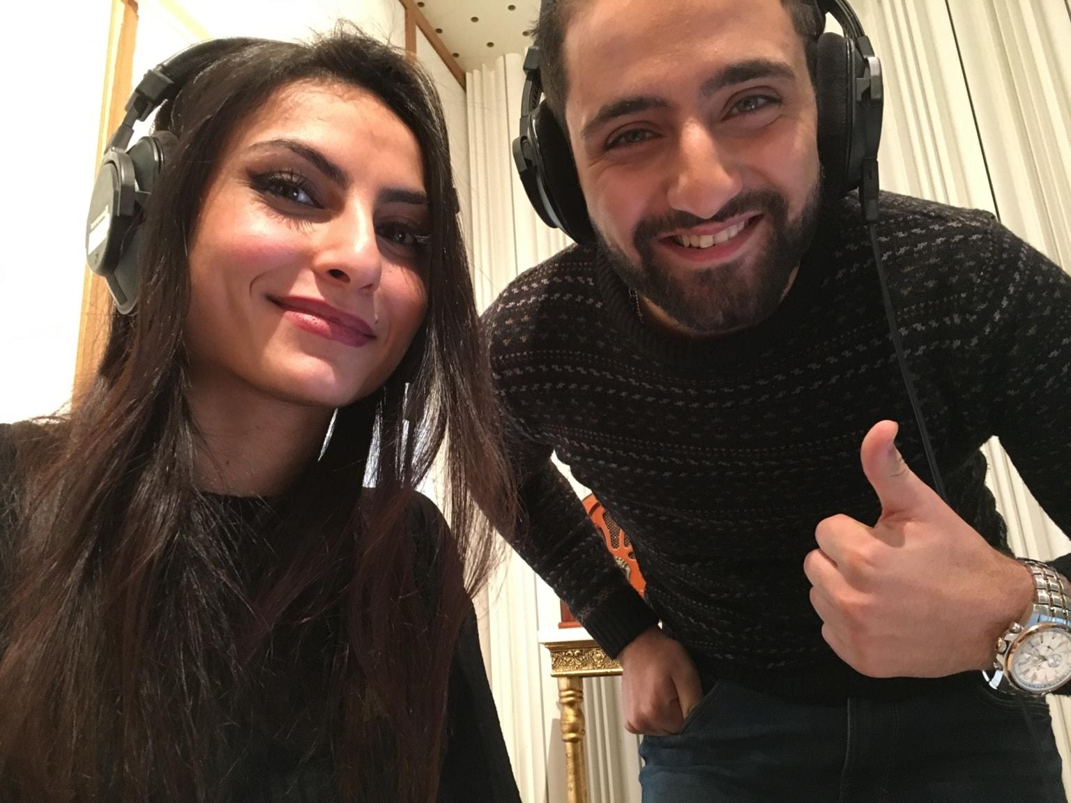 Hena Elnicir och Aiya Mohsen