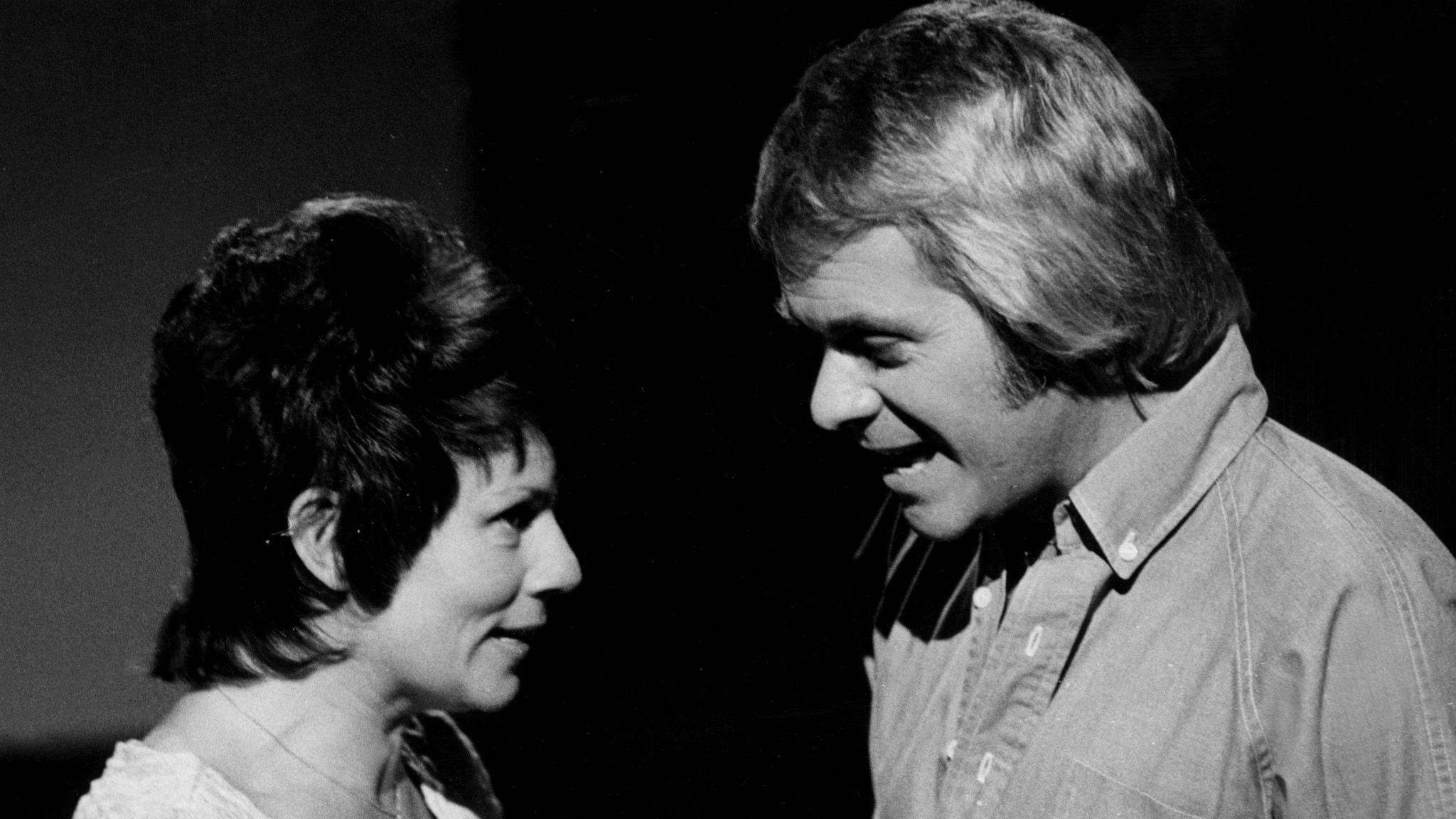 Towa Carson och Lars Lönndahl var framgångsrika ihop på Svensktoppen