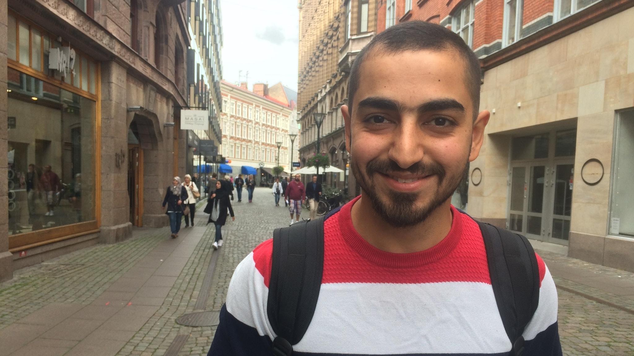 Sadeq al-Ghaffari del 1: Jag drömmer om att bo på ett rofyllt ställe.