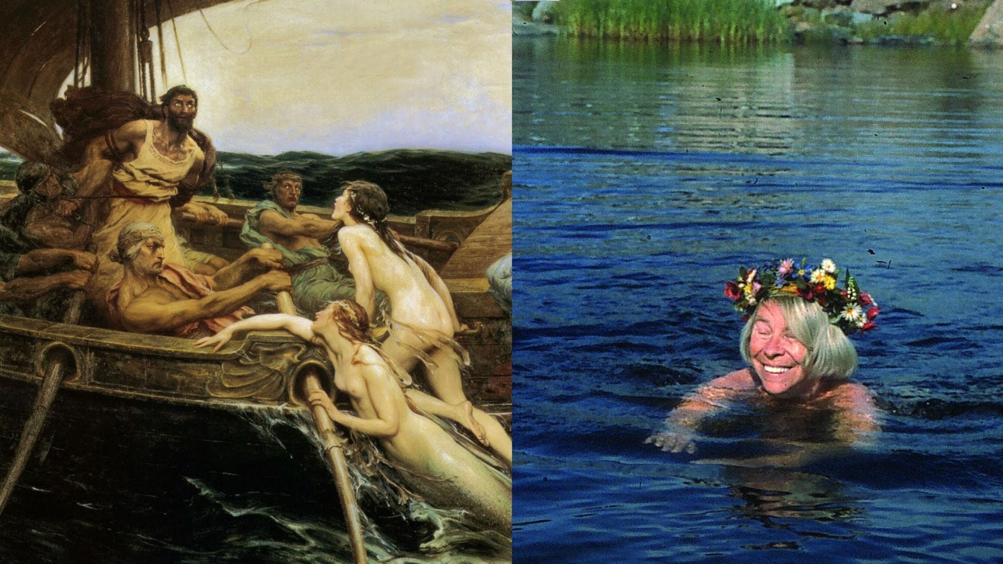 O, att färdas på Odysseus och Mumintrollets vågor! - spela