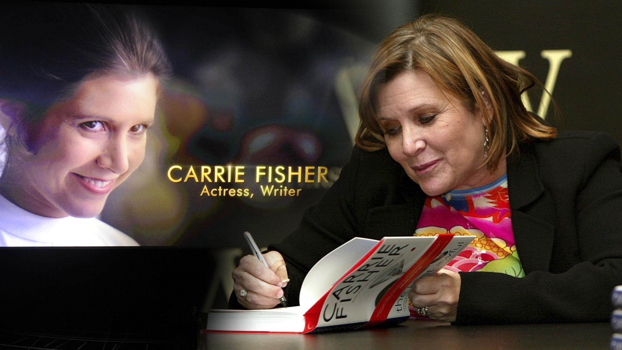 Carrie Fisher – en rebell även som författare - spela