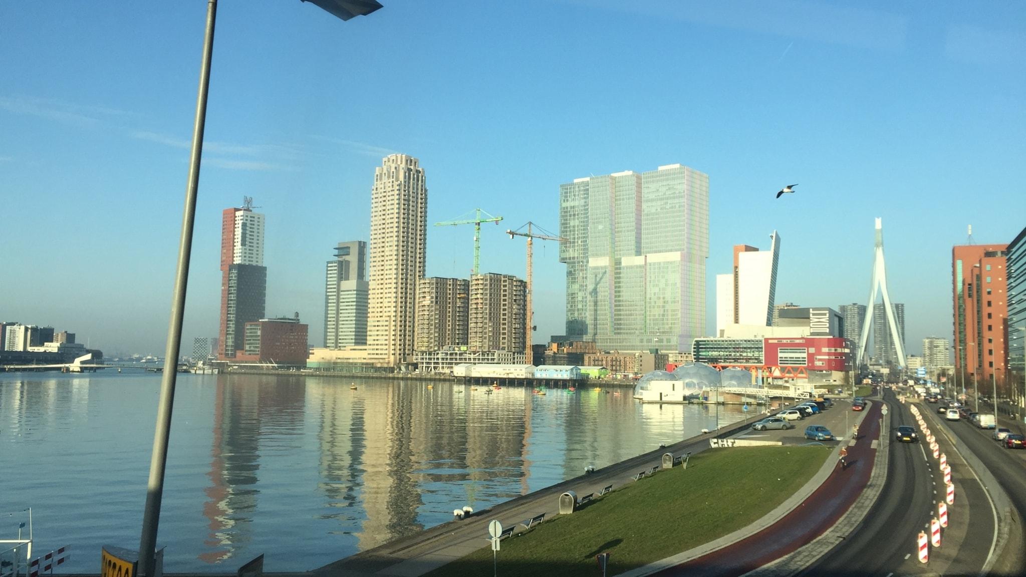 Rotterdam – från nedgången hamnstad till hipp metropol