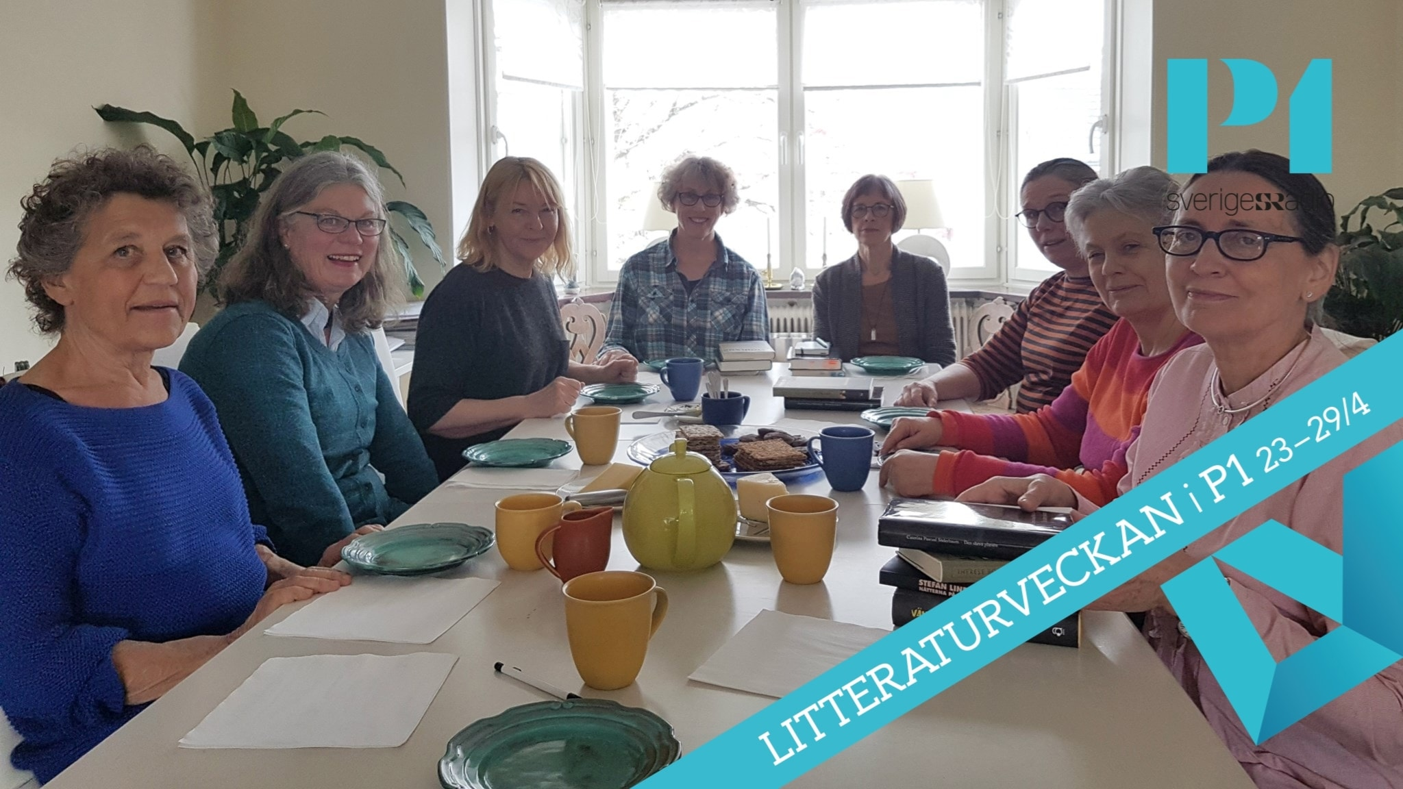 Inför Litteraturveckan: Möt bokcirkeln Astrid