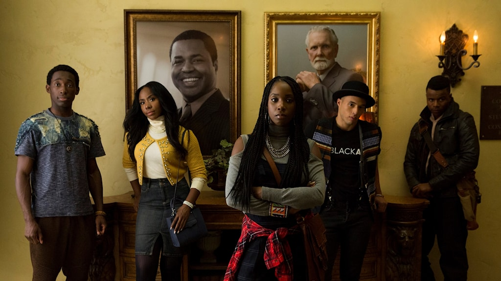 "Tv-serien ""Dear White People"" visas på Netflix."