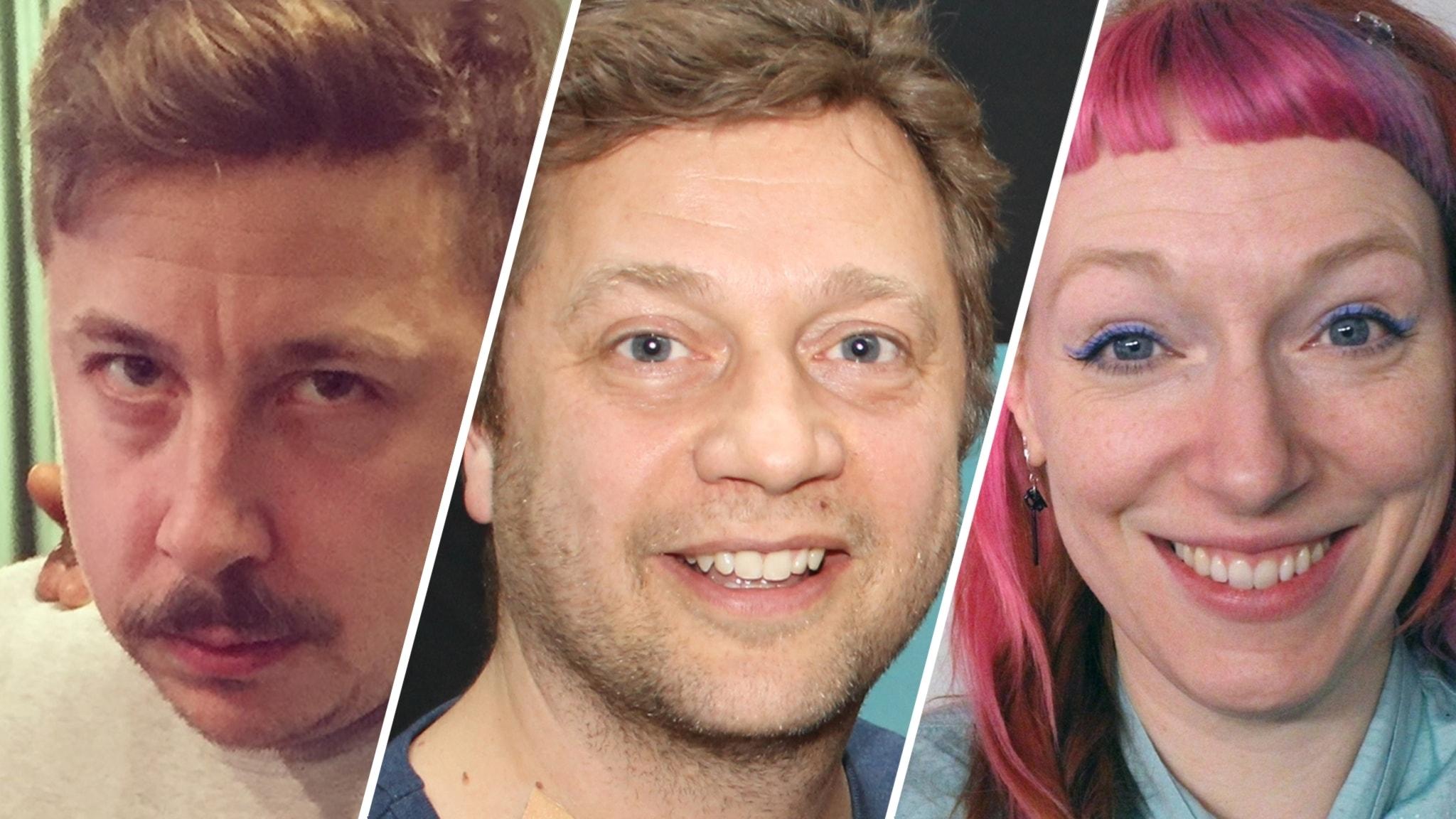 TGIFredag i P4 med Martina Thun. Och med Johan Petersson, David Sundin och Josefin