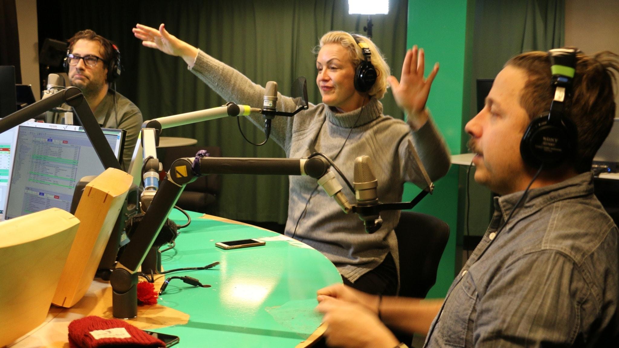 Fredag i P4 med Martina Thun - och Niklas Källner, Karin Adelsköld samt David Sundin