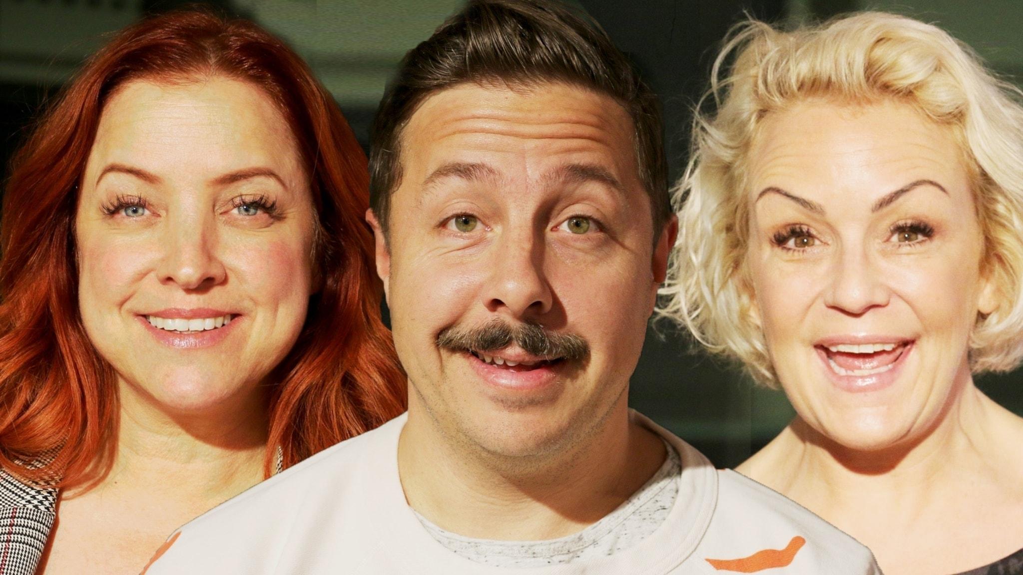 Shirley Clamp, Karin Adelsköld och David Sundin vevar igång helgen!